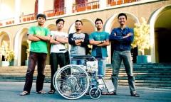Kursi roda buatan mahasiswa UGM