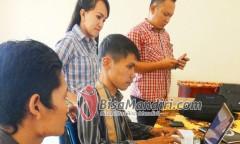 Peserta Belajar Mengakses Bisamandiri.com
