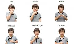 Bahasa isyarat bagi anak tuna rungu