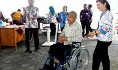 Sosialilsasi dan pelayanan terpadu Jamkesus bagi disabilitas