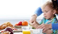 Ilustrasi Makanan Anak Berkebutuhan Khusus