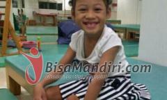 Febryani Putri Pratama Thorin, anak cerebral palsy yang bisa mandiri