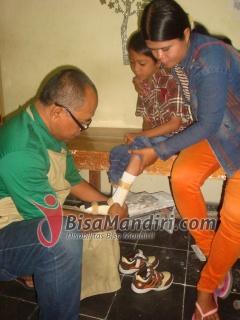 Ankle Foot Orthosis bantu anak cerebral palsy
